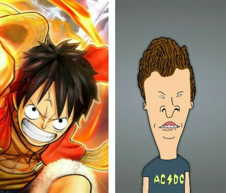 Luffy and Butthead