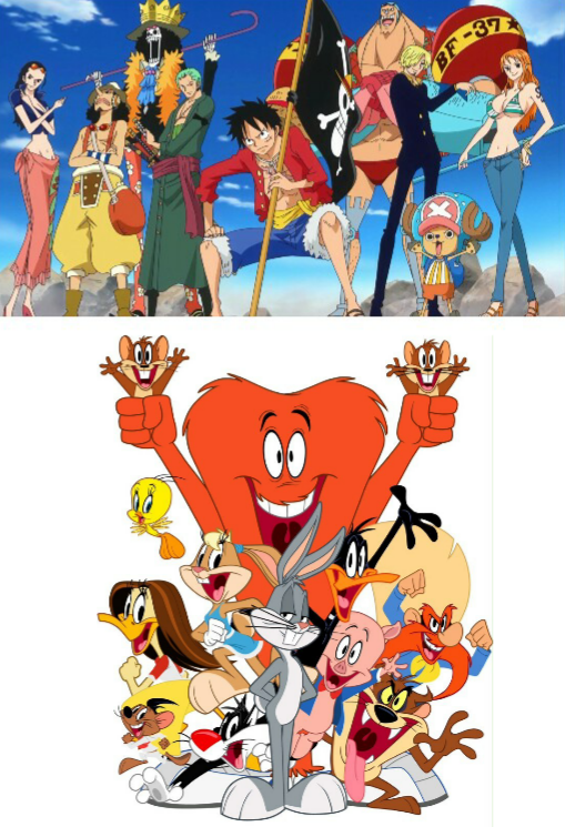 One piece - Looney tunes